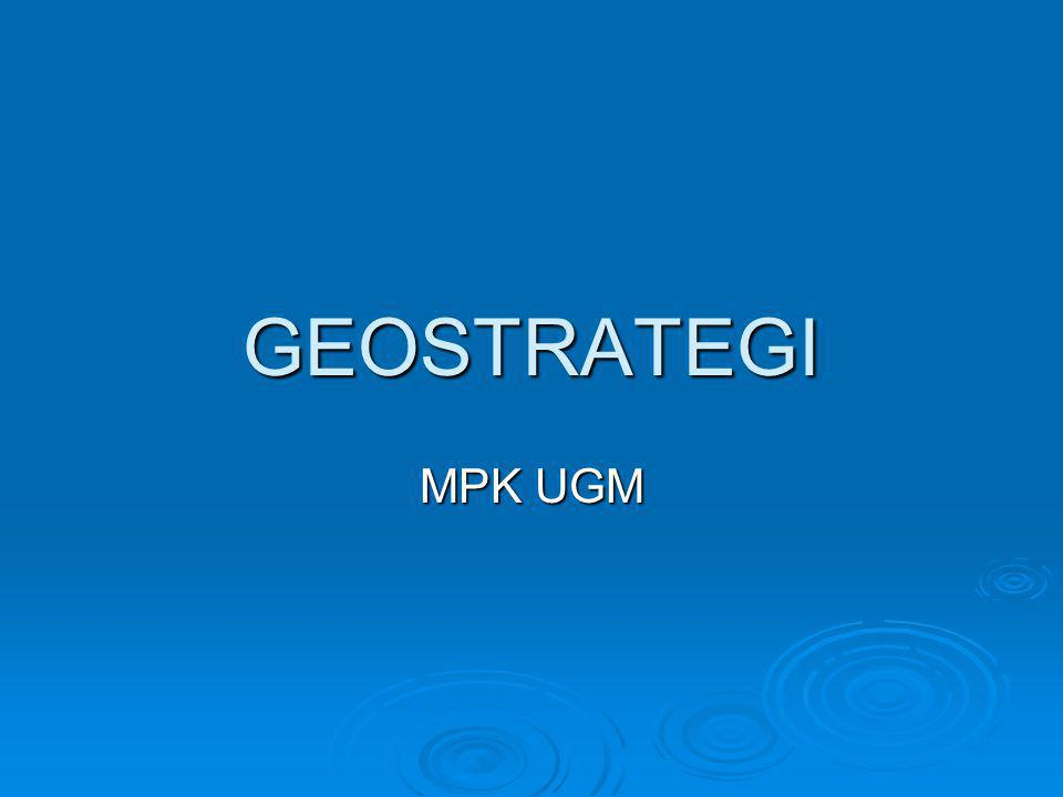 GEOSTRATEGI MPK UGM