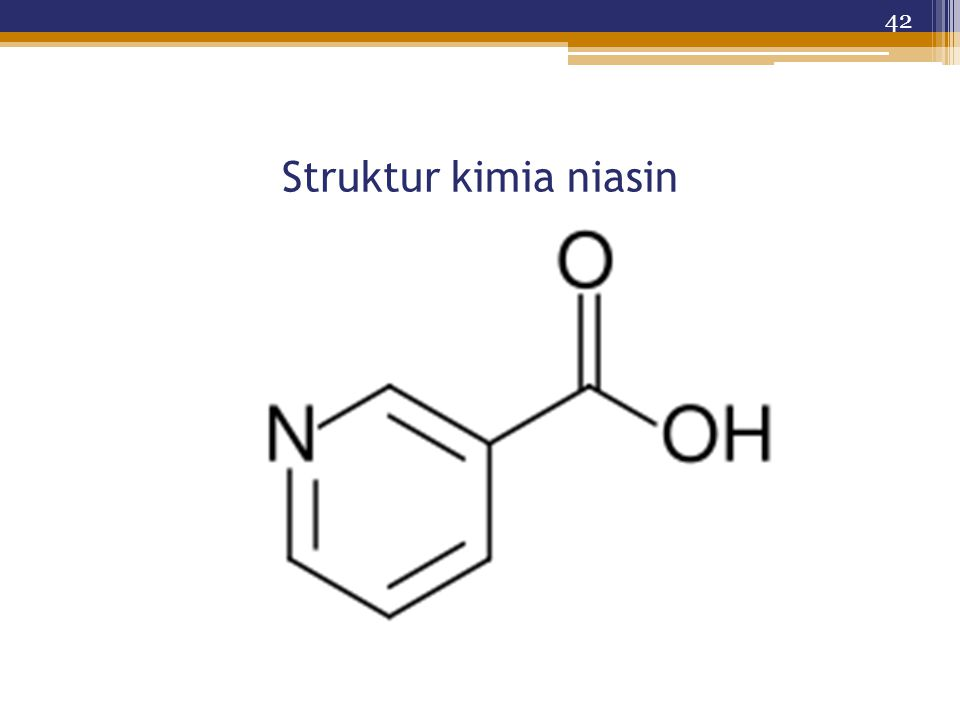 Struktur kimia niasin