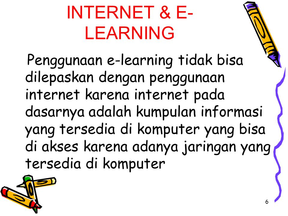 INTERNET & E-LEARNING