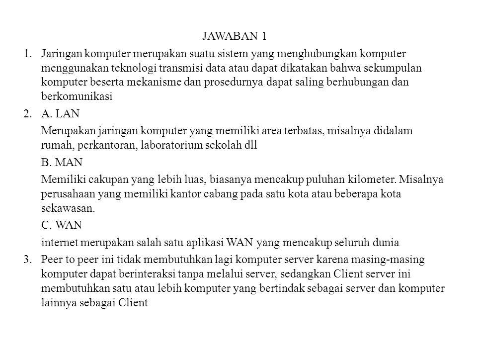 JAWABAN 1