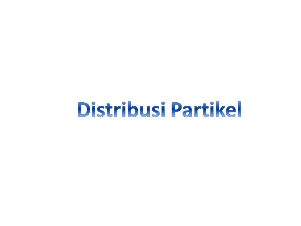 Distribusi Partikel