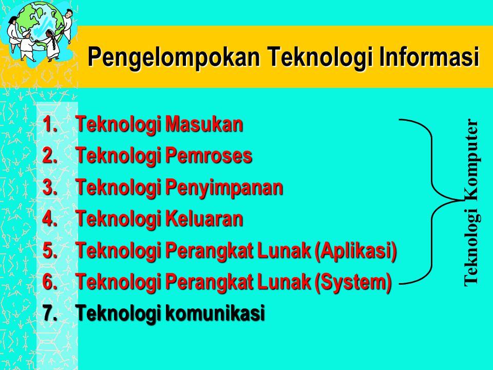 Pengelompokan Teknologi Informasi