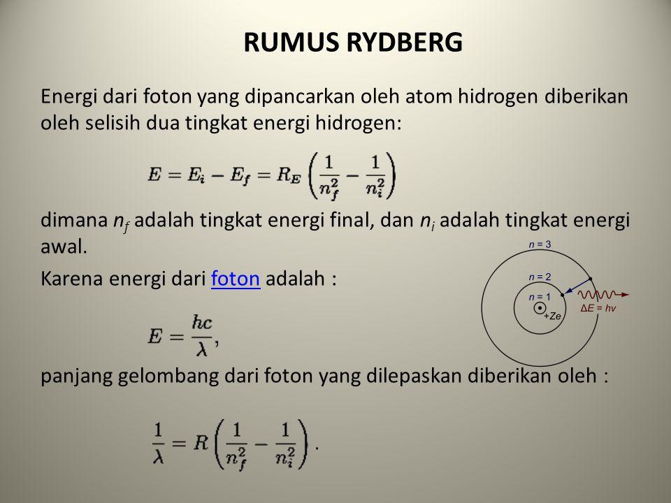 RUMUS RYDBERG