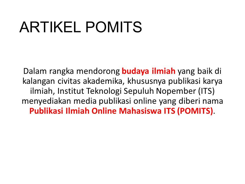 ARTIKEL POMITS
