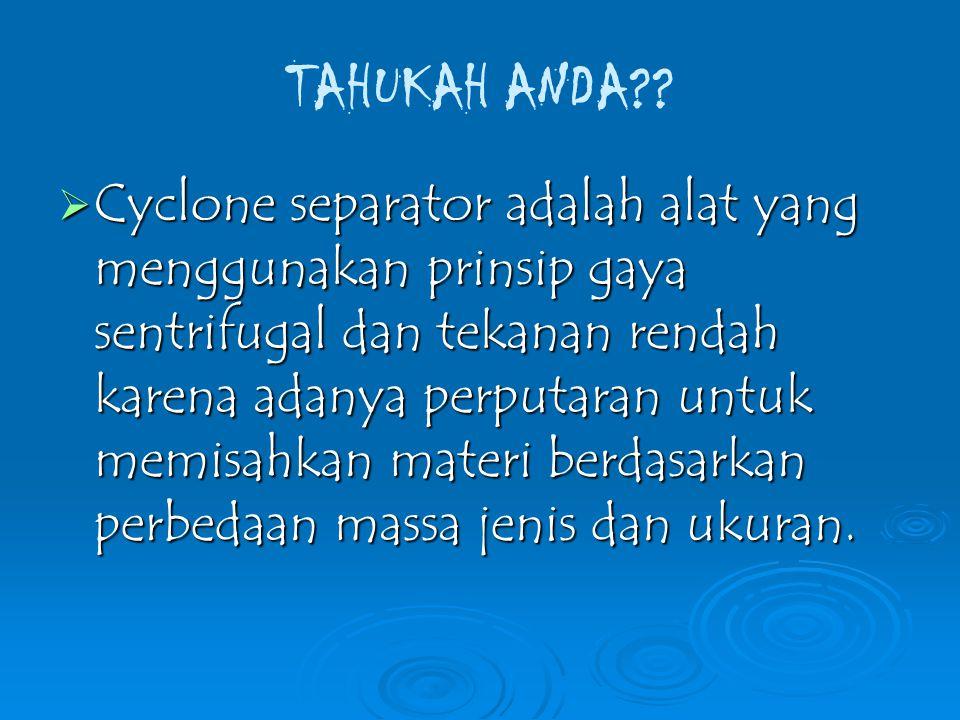 TAHUKAH ANDA