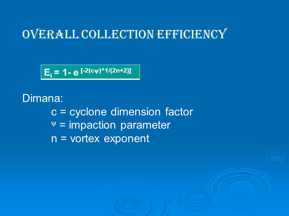OVERALL COLLECTION EFFICIENCY