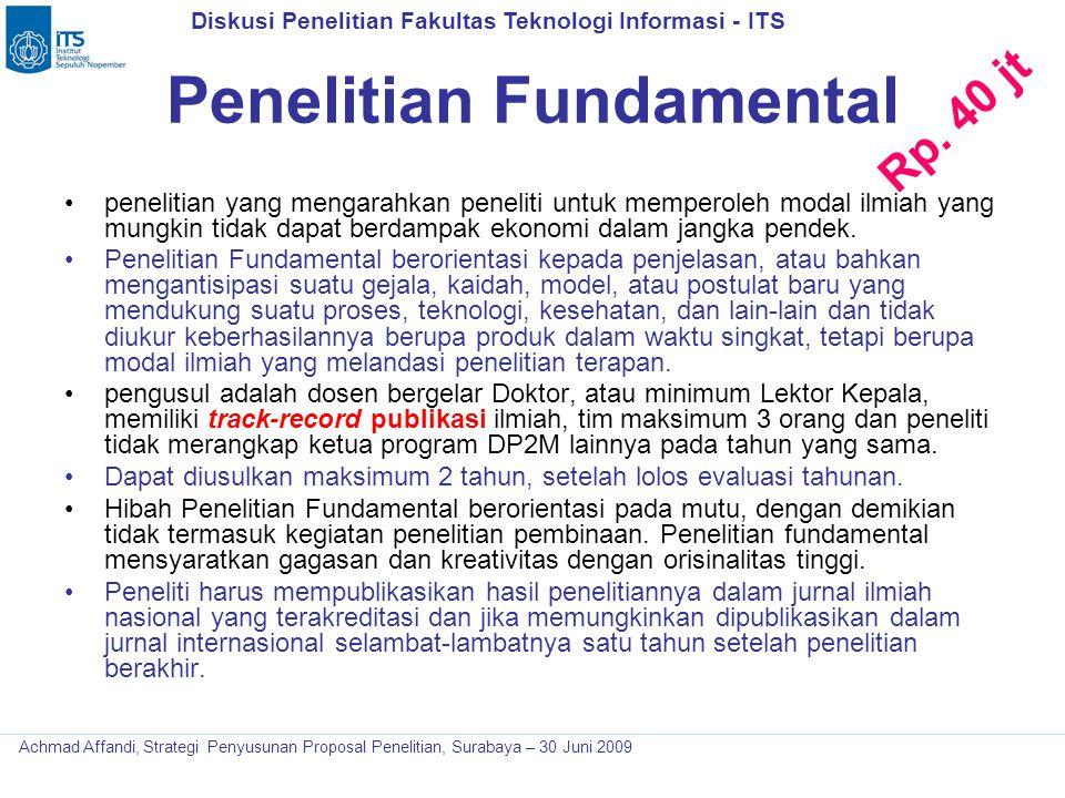 Penelitian Fundamental
