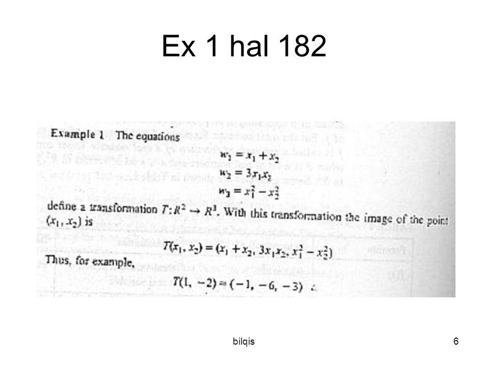 Ex 1 hal 182 bilqis