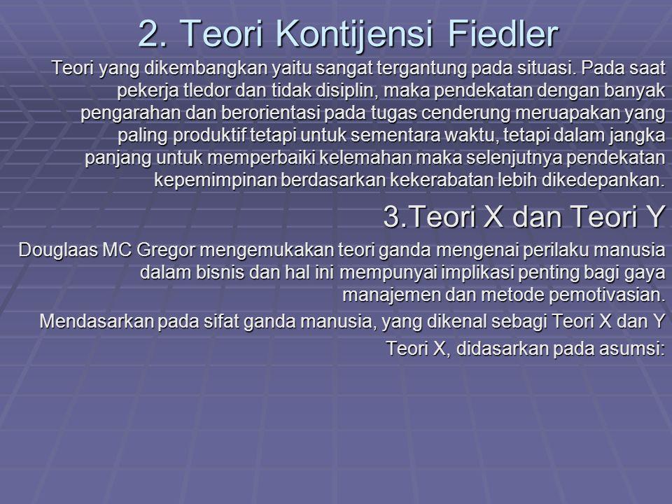 2. Teori Kontijensi Fiedler