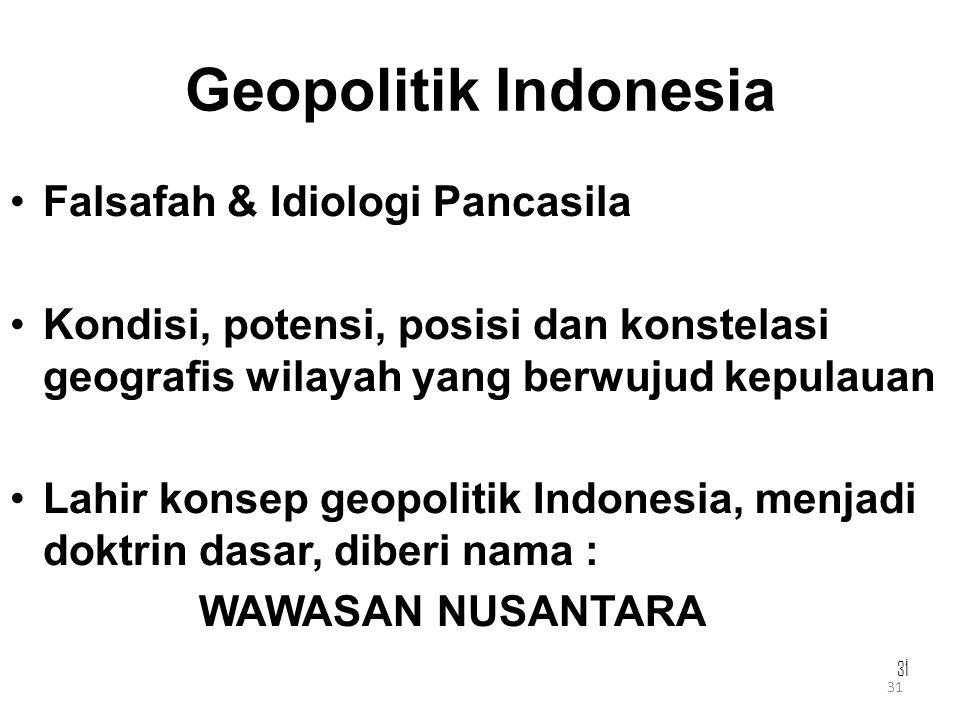 Geopolitik Indonesia Falsafah & Idiologi Pancasila