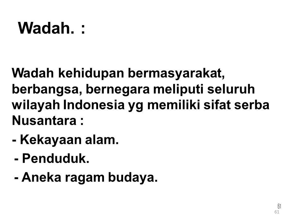 Wadah. :
