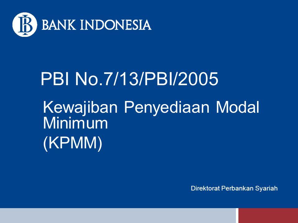 Kewajiban Penyediaan Modal Minimum (KPMM) Direktorat Perbankan Syariah