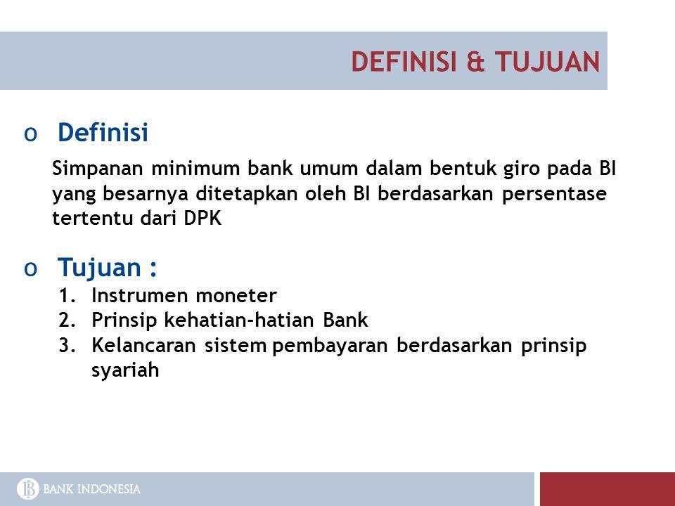 DEFINISI & TUJUAN Definisi Tujuan :