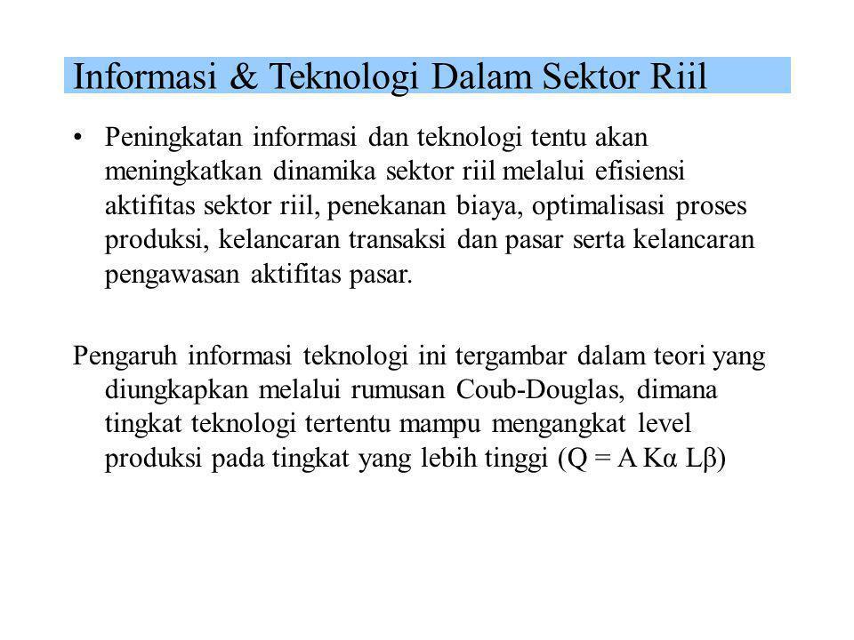 Informasi & Teknologi Dalam Sektor Riil