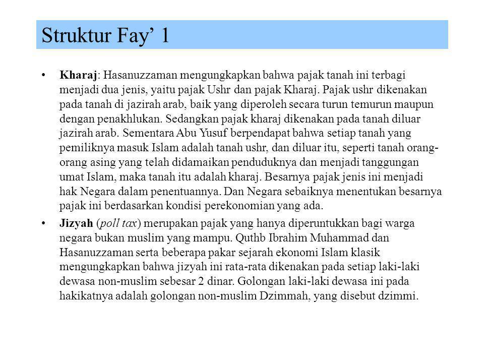 Struktur Fay' 1