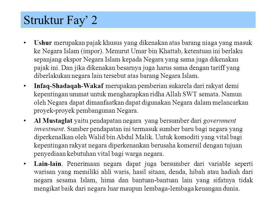 Struktur Fay' 2