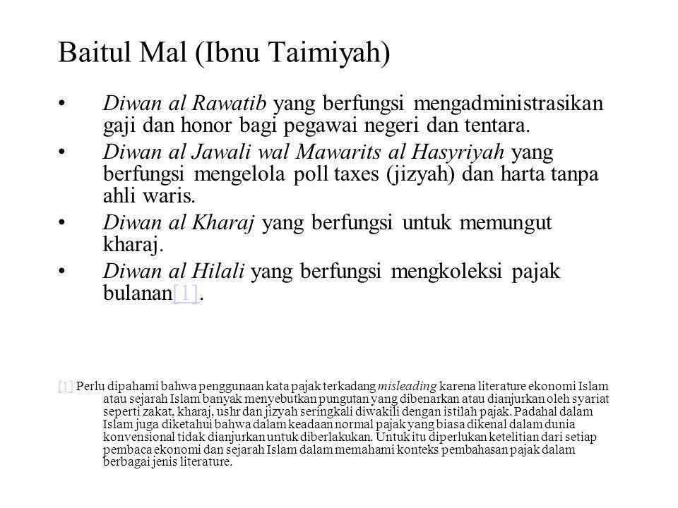 Baitul Mal (Ibnu Taimiyah)
