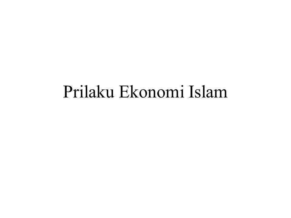 Prilaku Ekonomi Islam