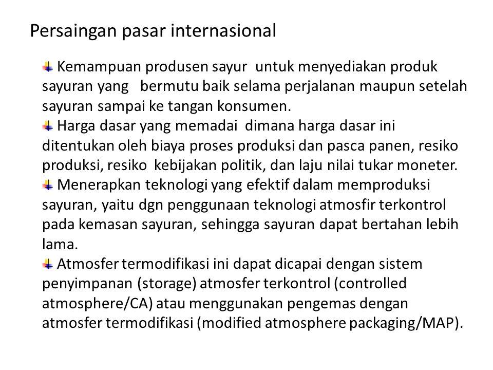 Persaingan pasar internasional