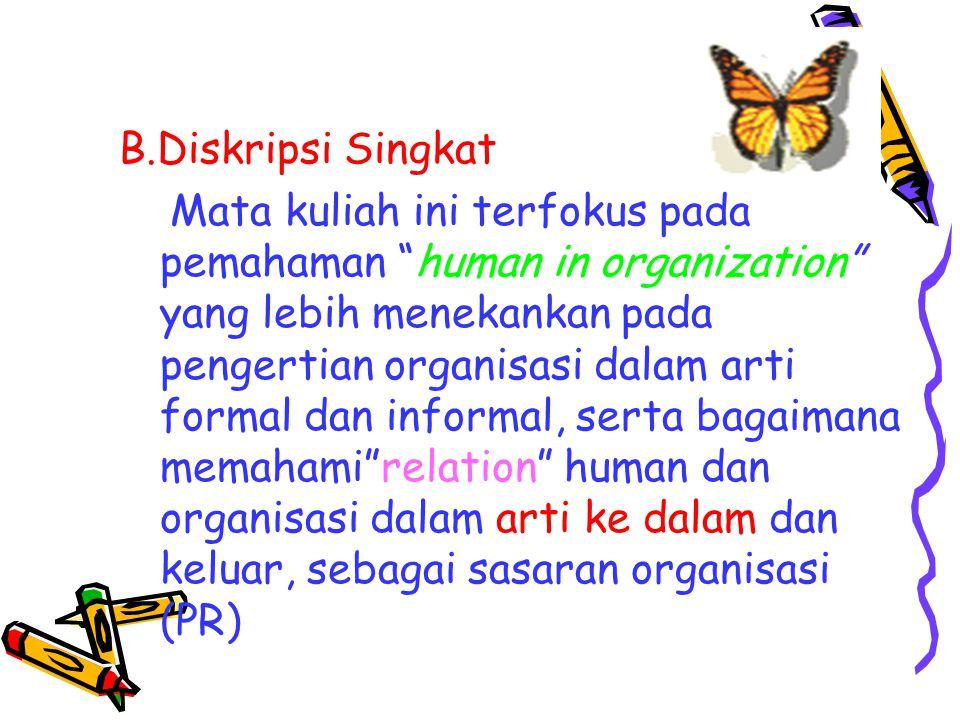 B.Diskripsi Singkat