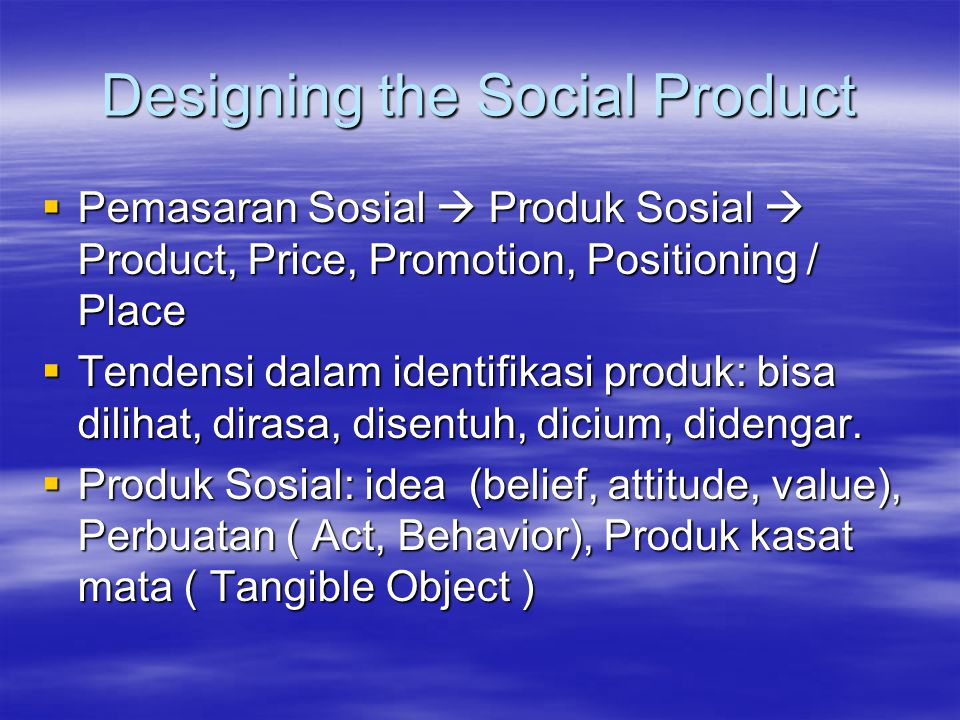 Designing the Social Product