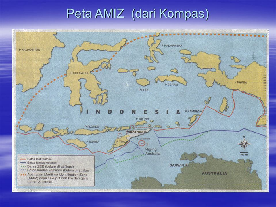 Peta AMIZ (dari Kompas)