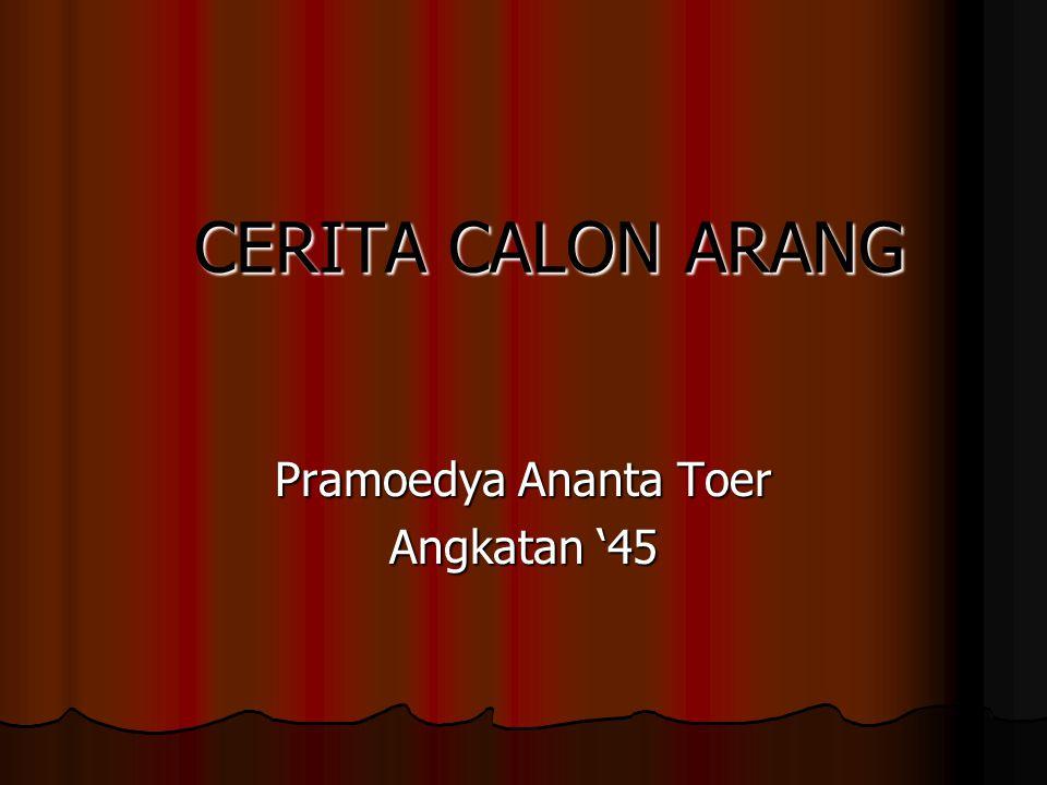 Pramoedya Ananta Toer Angkatan '45