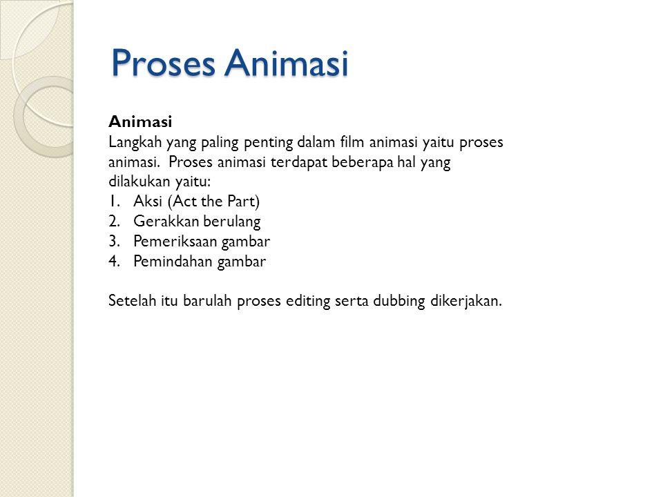 Proses Animasi Animasi
