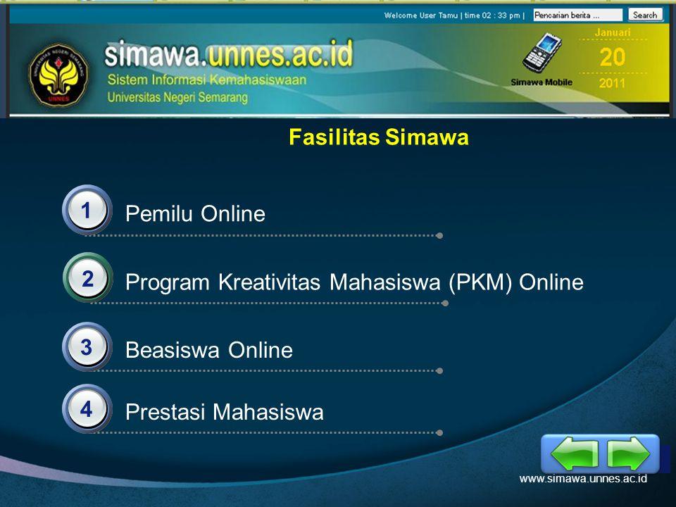 Program Kreativitas Mahasiswa (PKM) Online