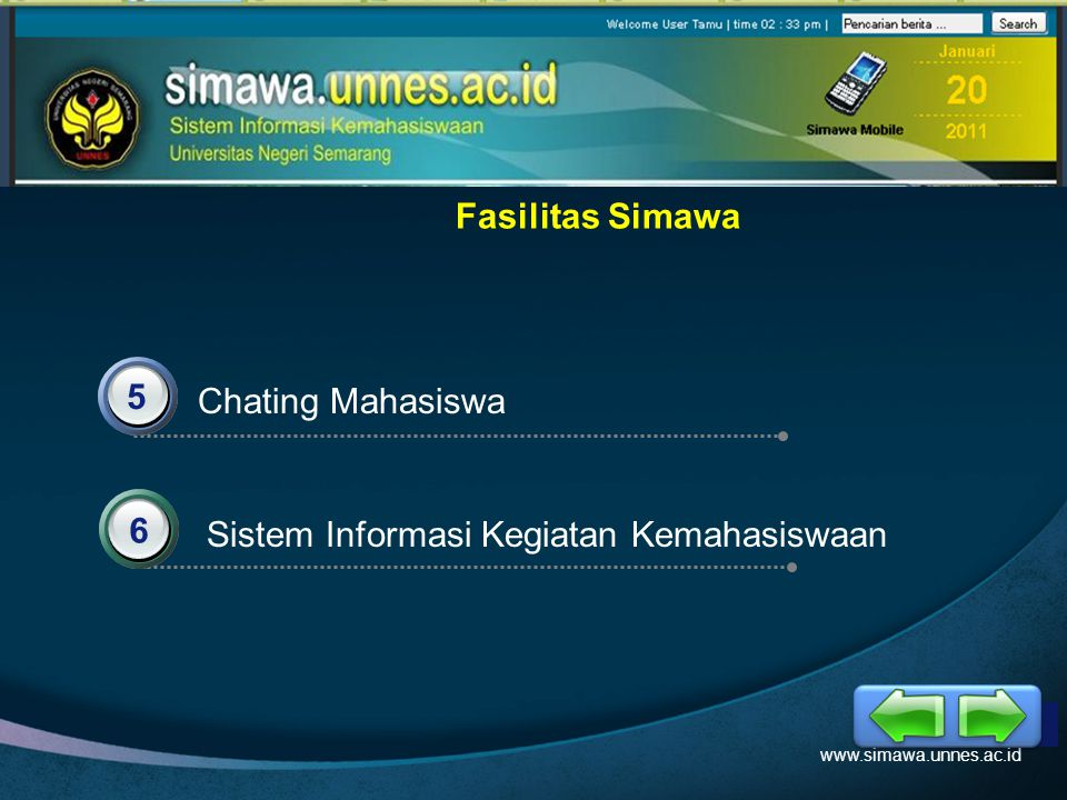 Sistem Informasi Kegiatan Kemahasiswaan