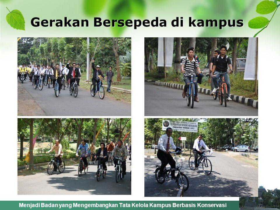Gerakan Bersepeda di kampus
