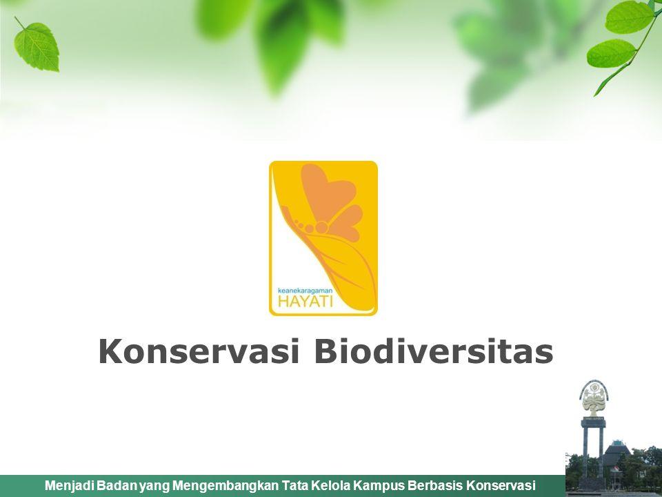 Konservasi Biodiversitas