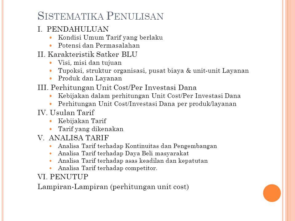 Sistematika Penulisan