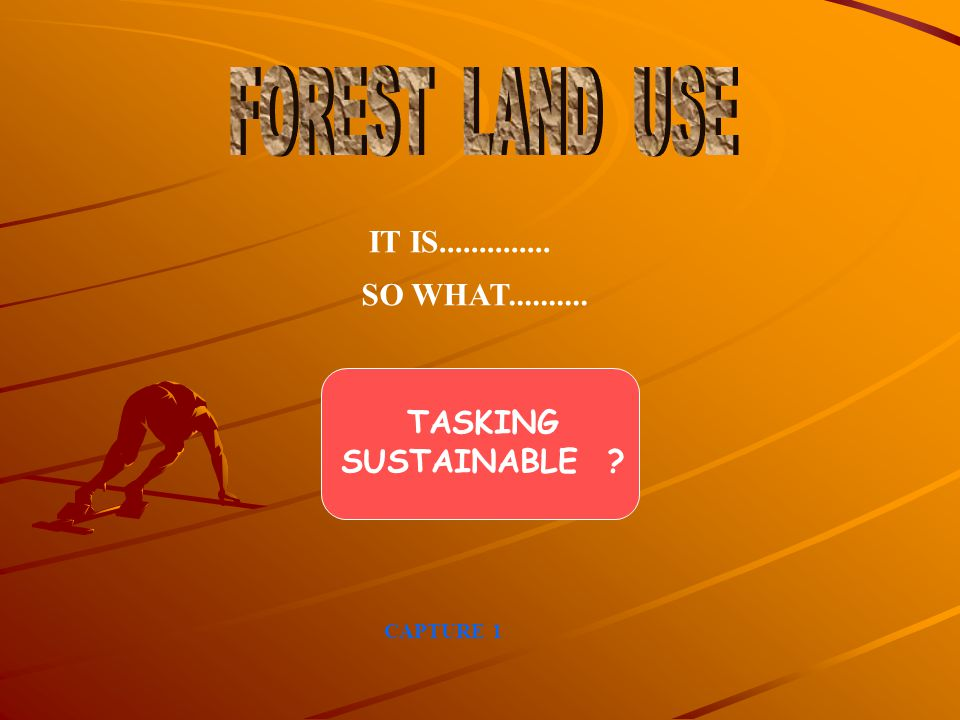 FOREST LAND USE IT IS.............. SO WHAT.......... TASKING