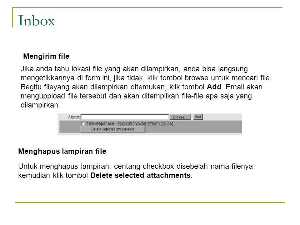 Inbox Mengirim file.