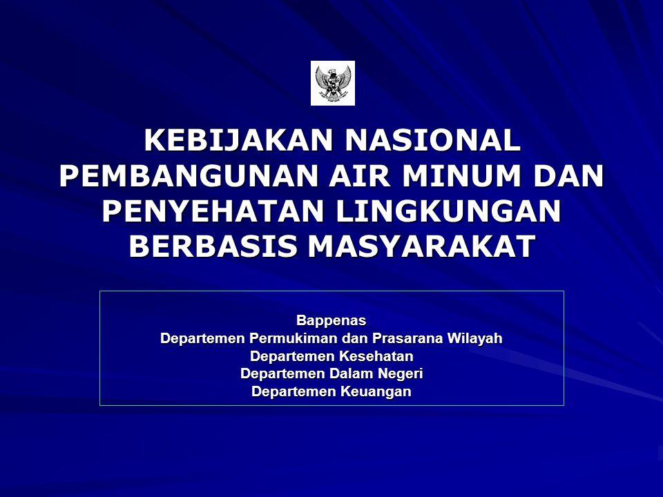 Departemen Permukiman dan Prasarana Wilayah Departemen Dalam Negeri
