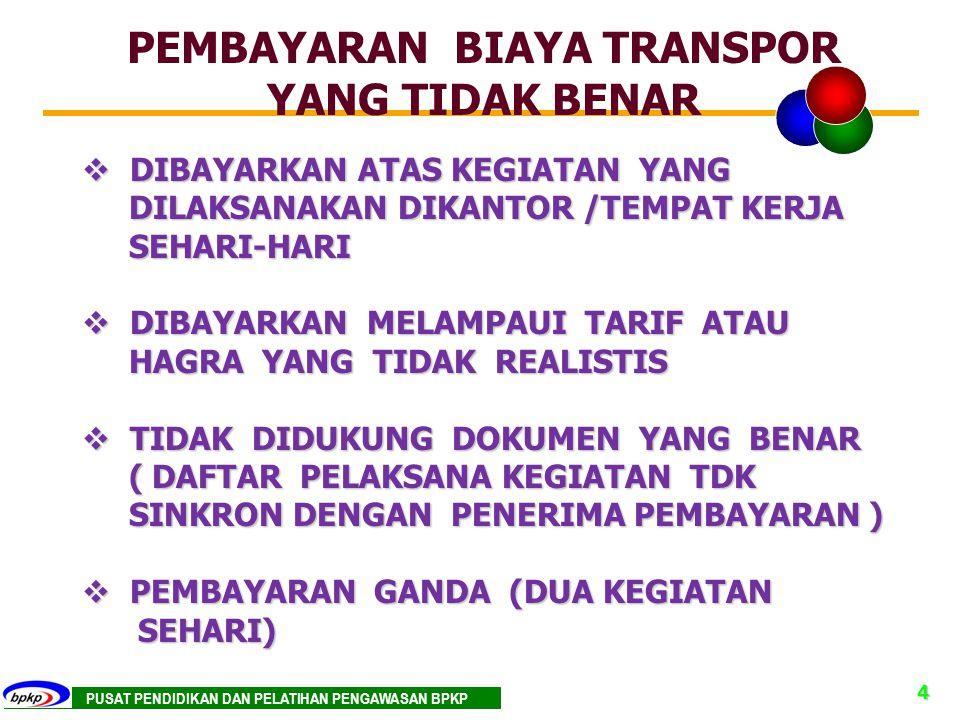 PEMBAYARAN BIAYA TRANSPOR