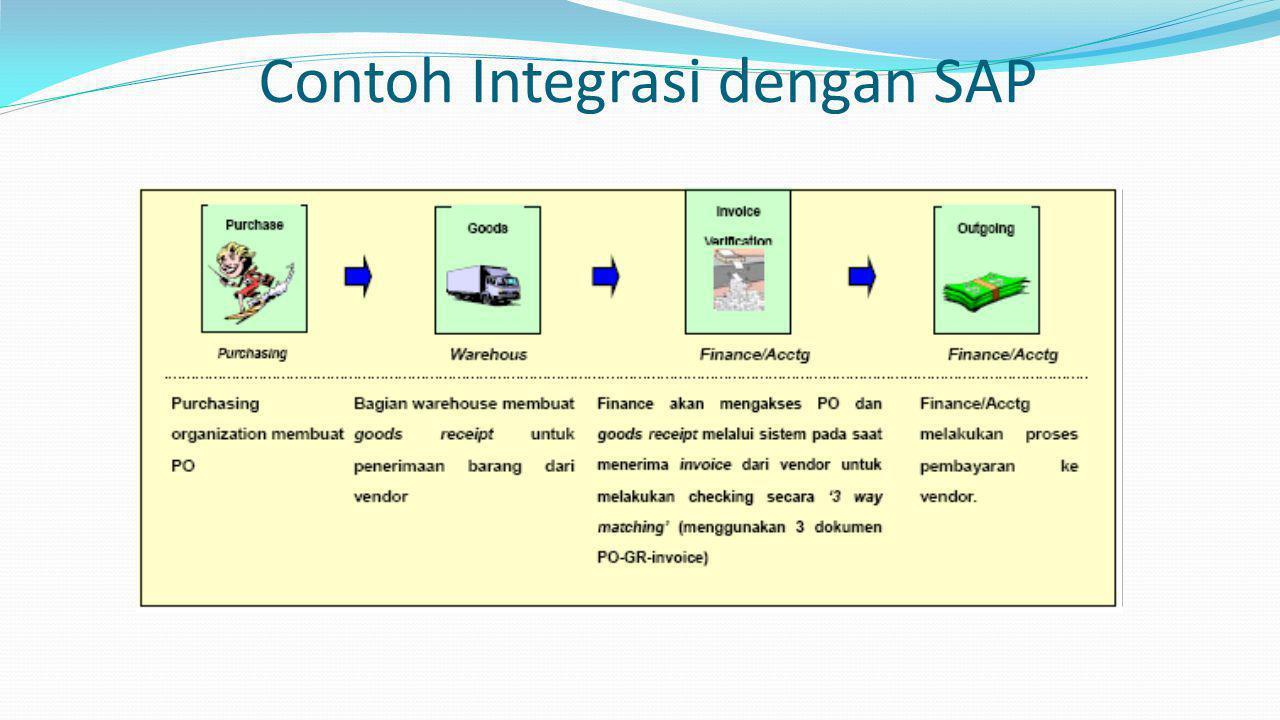 Contoh Integrasi dengan SAP