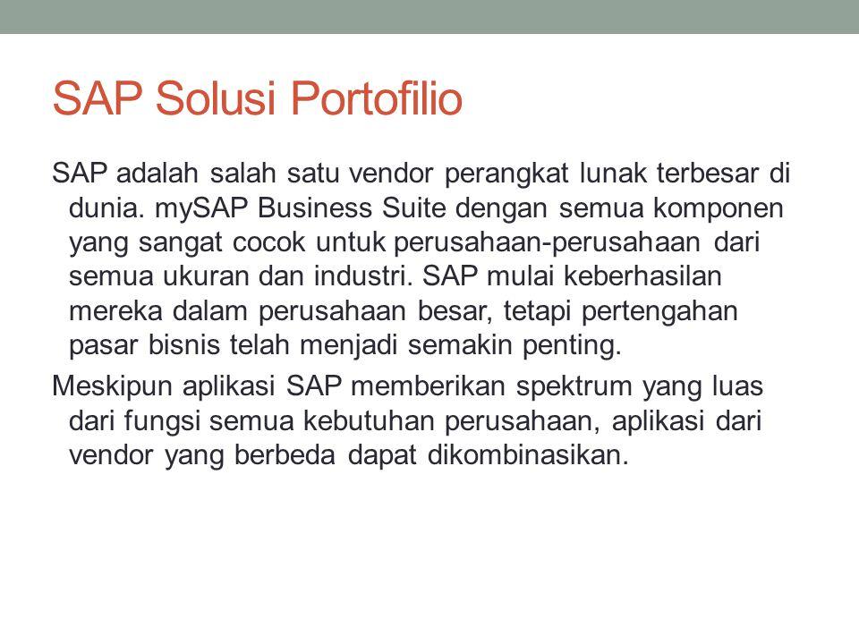 SAP Solusi Portofilio