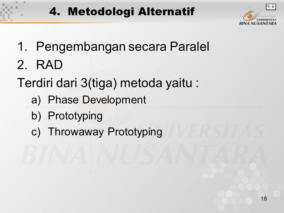 4. Metodologi Alternatif
