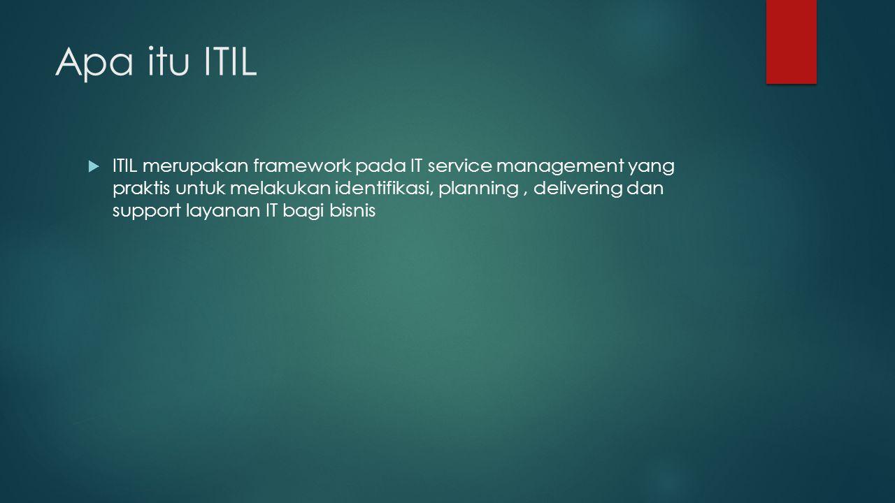 Apa itu ITIL
