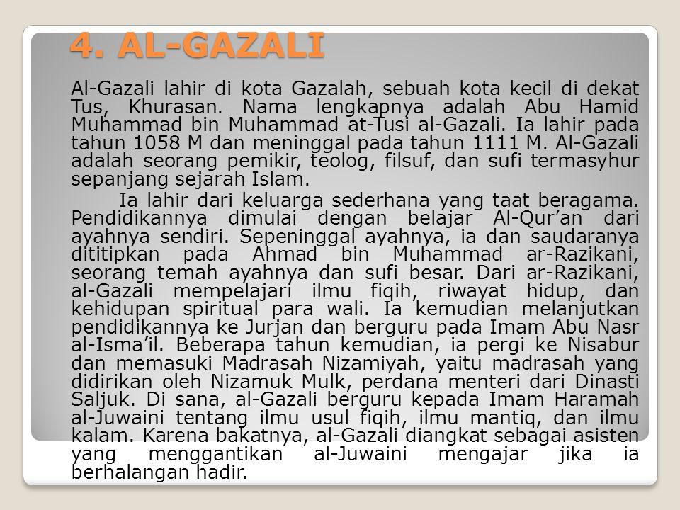 4. AL-GAZALI