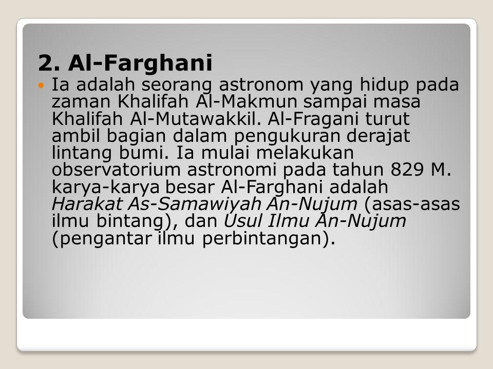 2. Al-Farghani