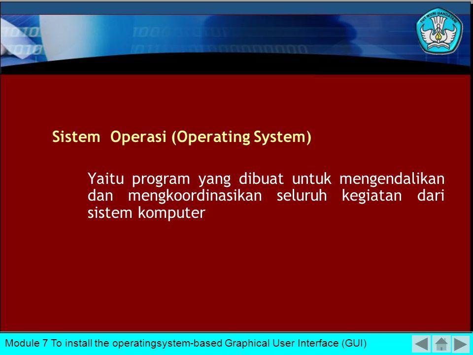 Sistem Operasi (Operating System)