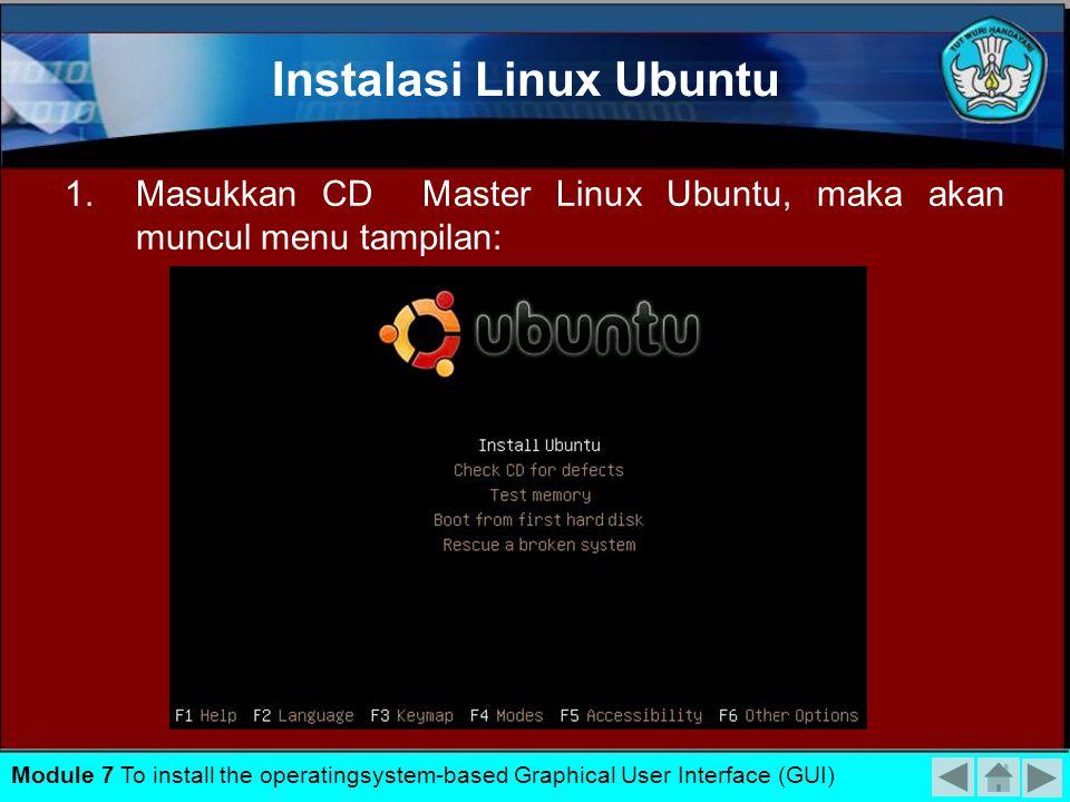 Instalasi Linux Ubuntu