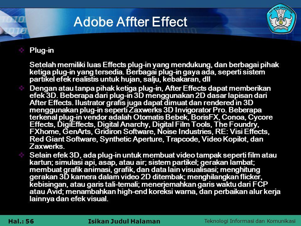Adobe Affter Effect