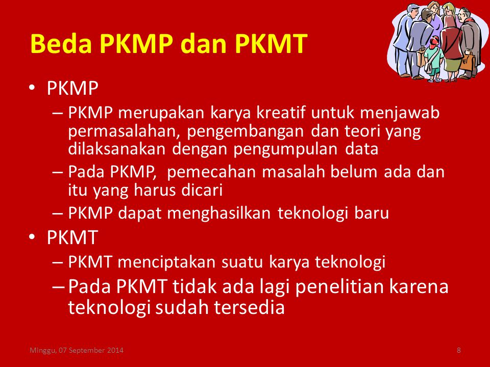 Beda PKMP dan PKMT PKMP PKMT