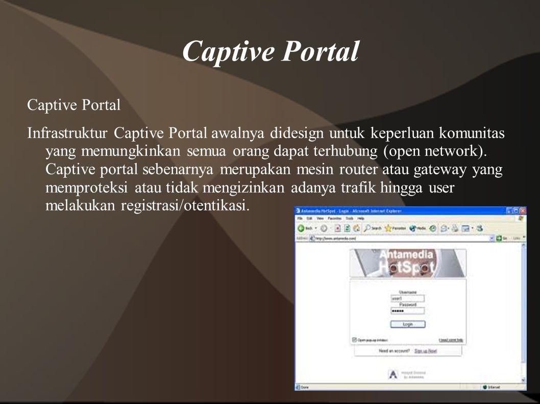 Captive Portal Captive Portal