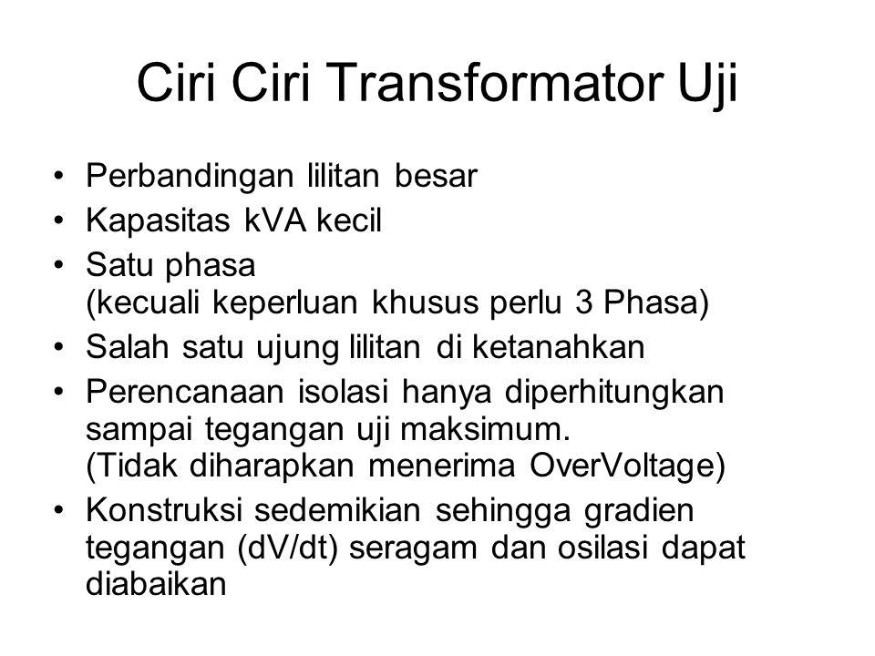Ciri Ciri Transformator Uji