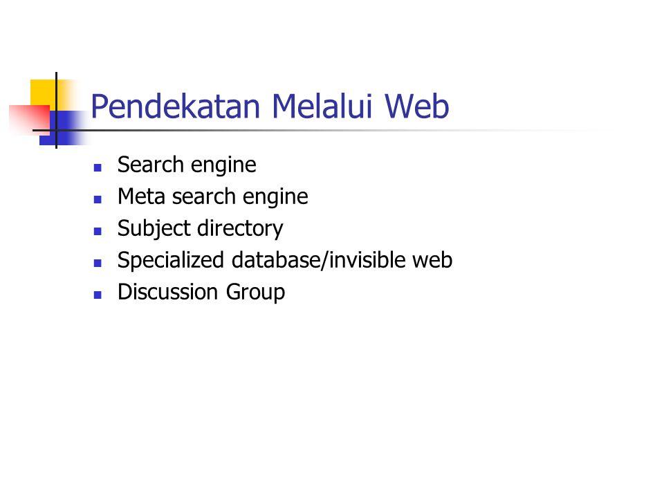 Pendekatan Melalui Web